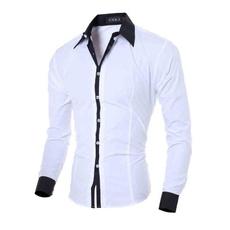 collar slim, Fashion, ironfree, Shirt