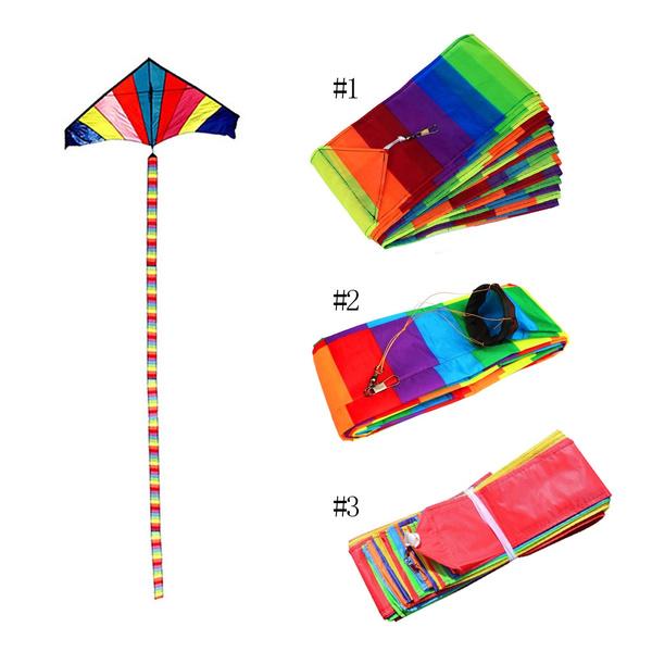 rainbow, Toy, kite, outdoortoy