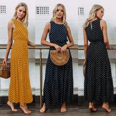 Summer, long dress, Dress, beach dress