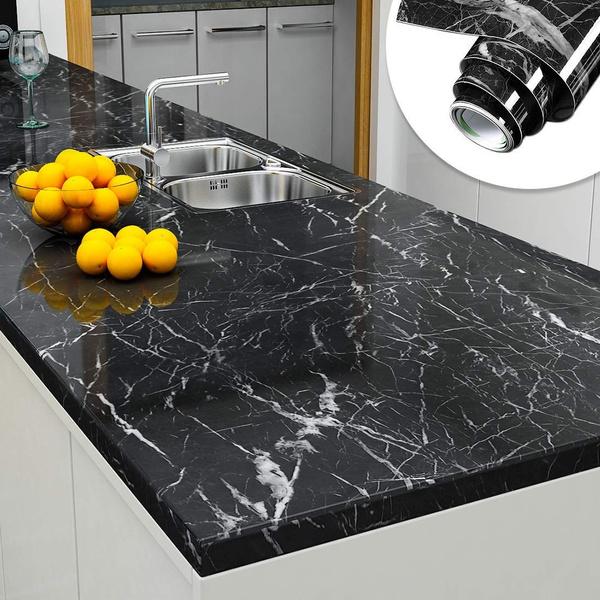 marblewallpaper, marblevinyl, kitchencountertop, waterproofmarble