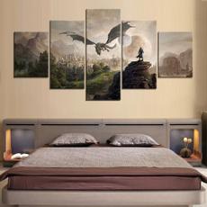 gameart, theelderscrollsonline, Wall Art, canvaspainting