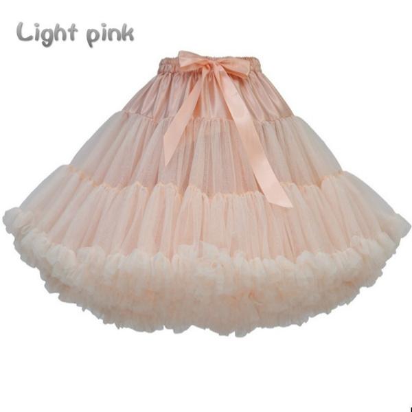 Lady Petticoat Crinoline Underskirt Sweet Lolita Tutu Princess Skirt Cosplay