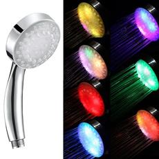 Shower, multicolorledshower, led, Romantic