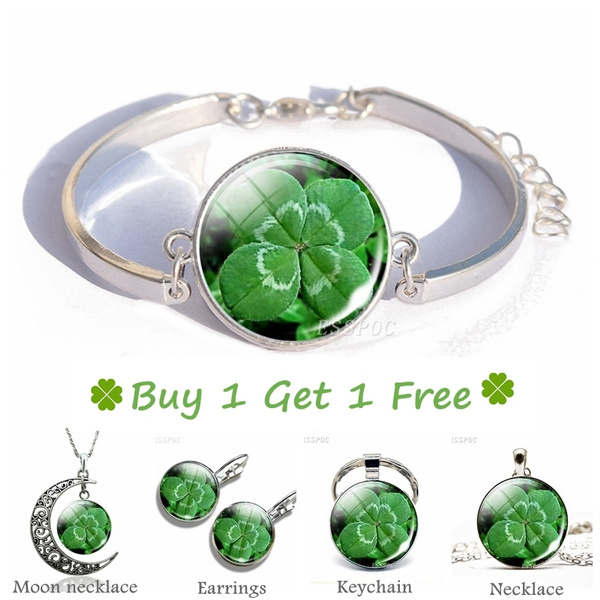 Clover, stpatrickdayjewelry, Fashion, Jewelry