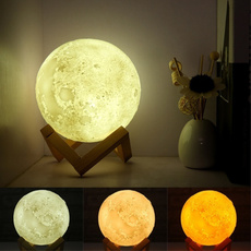 3dlamp, 3dmoonlamp, Night Light, moonlamp