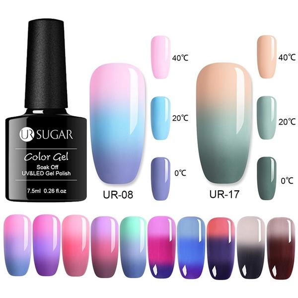 ursugarnailgel, Beauty, colorchangingnailgel, thermalnailgel