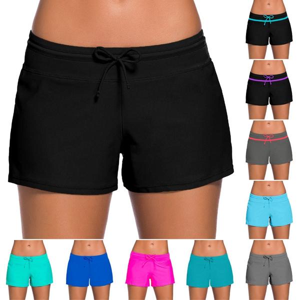 swim shorts for women, Shorts, Bottom, swimweartrunk