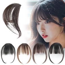 wig, bangswig, hairextensionclip, airbang