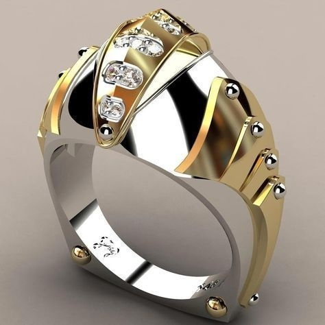 Sterling, Fashion, wedding ring, gold