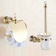 Box, golden, Bathroom, Bathroom Accessories