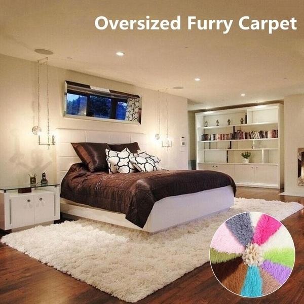 bedroomcarpet, Home Decor, antiskidrug, softfluffyrug