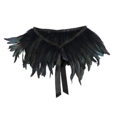 feathershawl, feathervisual, Halloween, Shawl