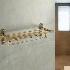 Antique, Brass, Baño, Bathroom Accessories