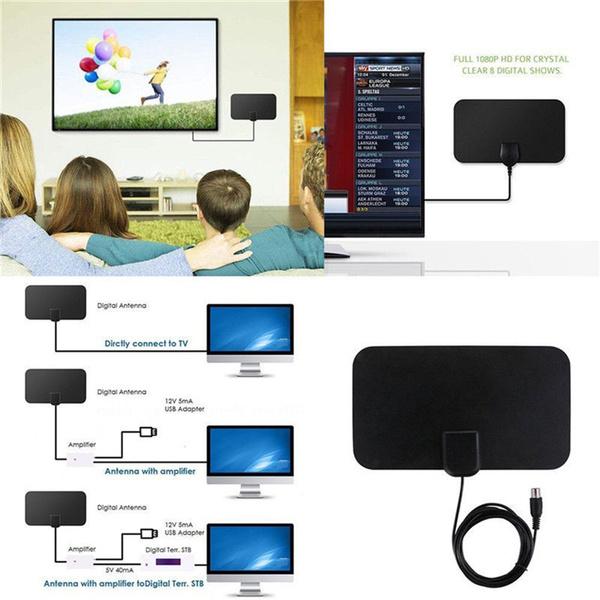 indooramplifiedtvantenna, hdtvantenna, Antenna, TV