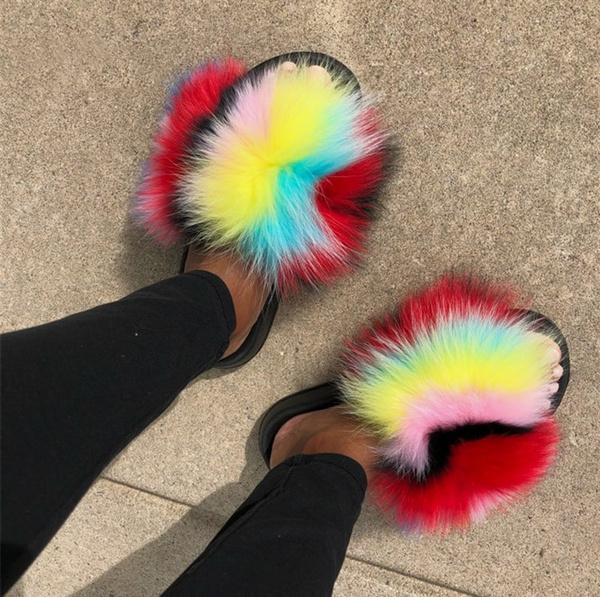 furshoe, Outdoor, Spring Shoe, foxfur
