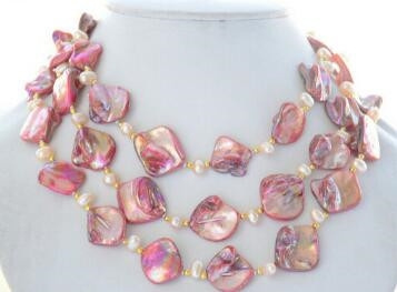pink, pearls, Jewelry, Necklace
