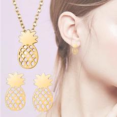earringandnecklaceset, Unique, Jewelry, Chain
