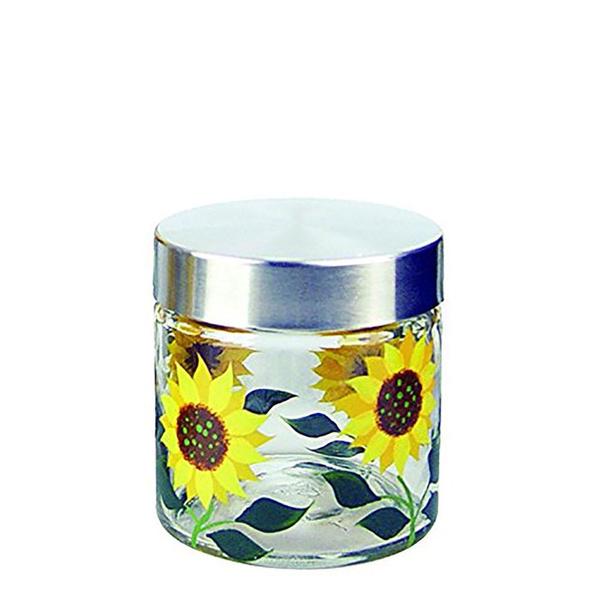 Kitchen & Dining, foodstoragecontainer, Sunflowers, flowerpatternedjar