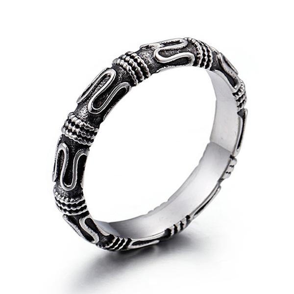 Steel, men_rings, Men, Stainless Steel