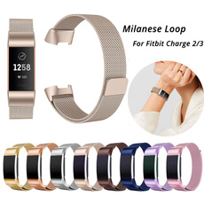 Steel, Stainless Steel, Wristbands, charge3