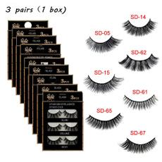 False Eyelashes, Fiber, Beauty, Eye Makeup