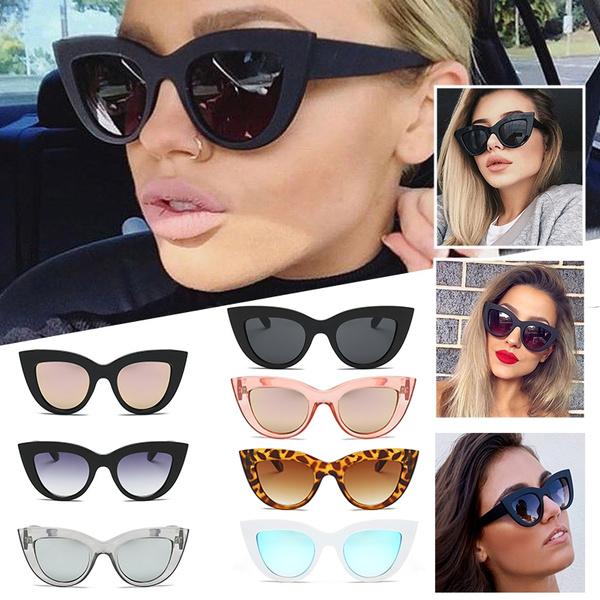 retro sunglasses, Fashion, Triangles, UV Protection Sunglasses