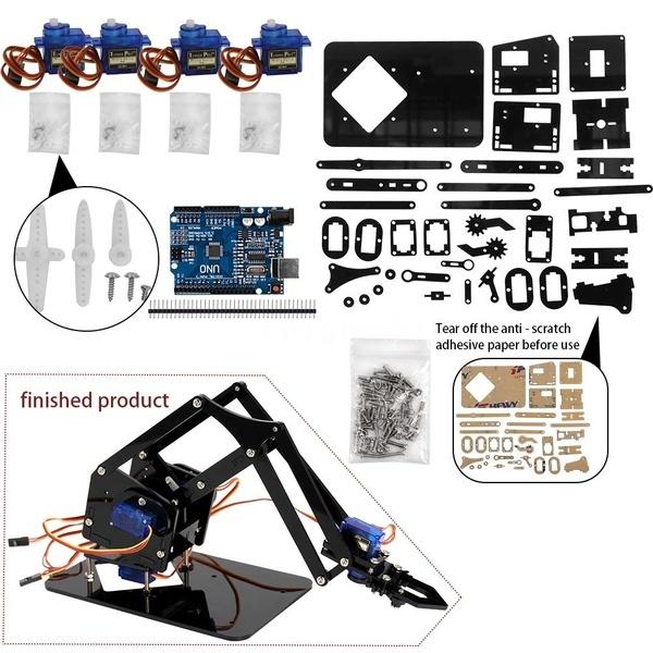 mechanicalrobot, servo, arduino, diyrobot