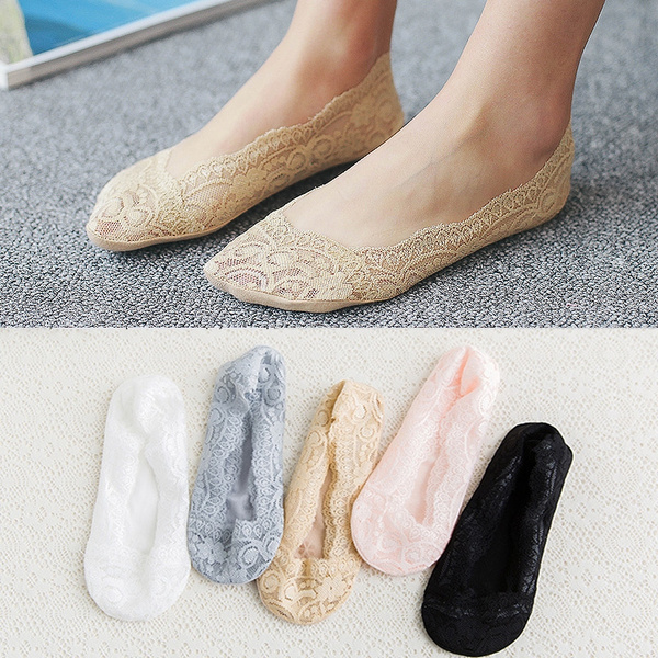 Women, womensockslace, Cotton, Lace