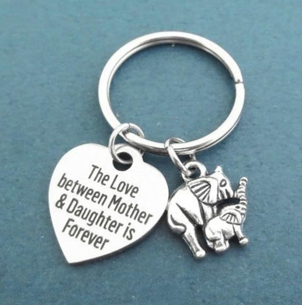 Keys, Heart, Mother, Key Chain