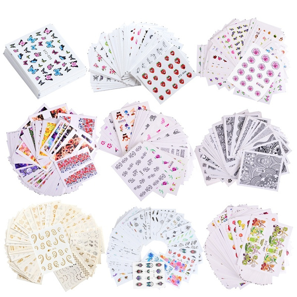nail decals, Fashion, art, Lace