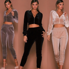 Spring Fashion, woman fashion, sports crop tops, Pure Color