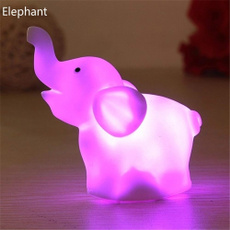 colorfullamp, elephantledtoy, Toy, led