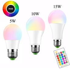 Light Bulb, E27, Remote Controls, Remote