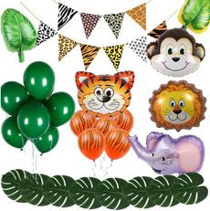 cow, safaribirthdayparty, pigballoon, monkey