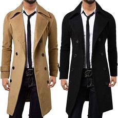 woolen, woolen coat, collar slim, slim