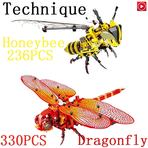 dragon fly, Fashion, puzzletoy, buildingblock