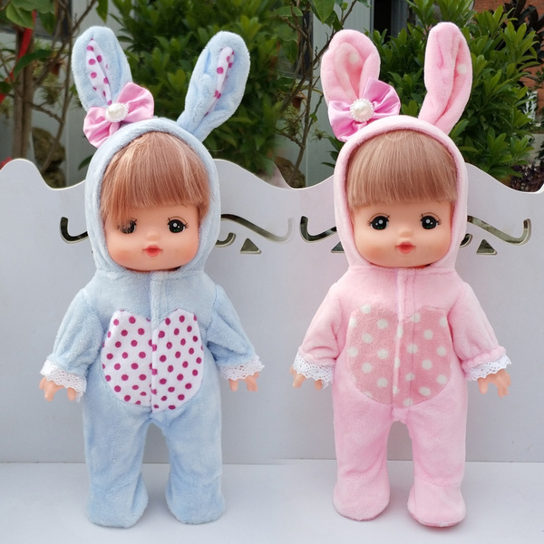 babydollhoodedjumpsuit, hooded, rabbit, dollspajamasoutfit
