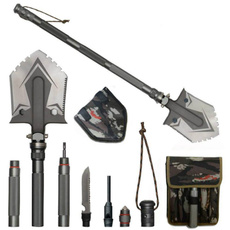 Steel, Pocket, shovel, camping