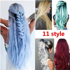 wig, Beautiful, fakehairforwomen, curly wig