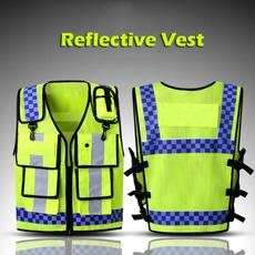 Vest, Fashion, Waterproof, Yellow