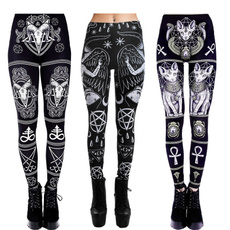 Goth, Plus Size, pants, gothic