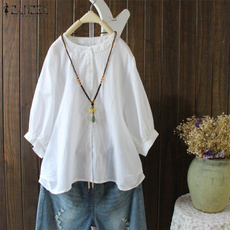 blouse, tunics women, Fashion, cottonlinen