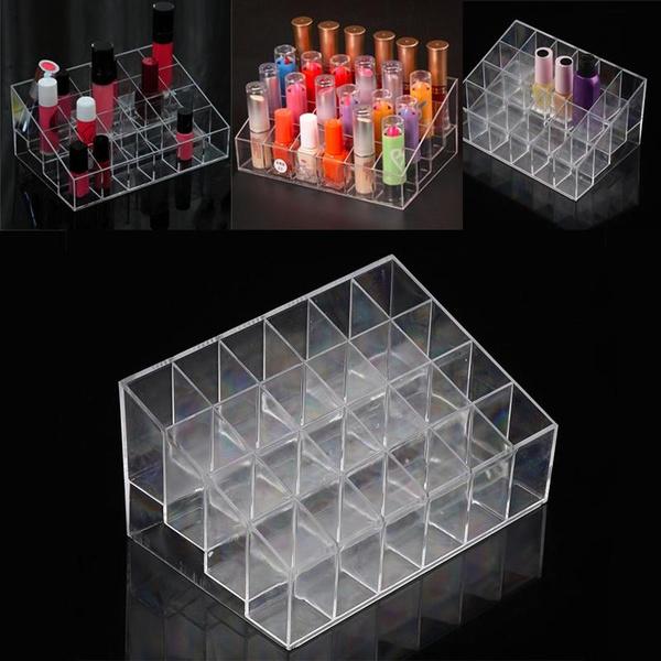 Storage Box, Makeup Tools, nailpolishstand, Lipstick