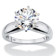 Cubic Zirconia, platinum, Bridal, Jewelry