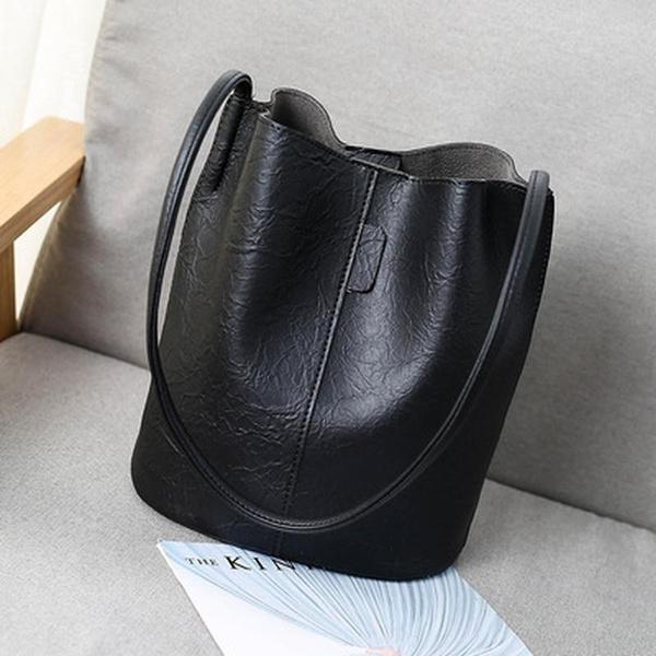 Shoulder Bags, Tote Bag, leather, Vintage