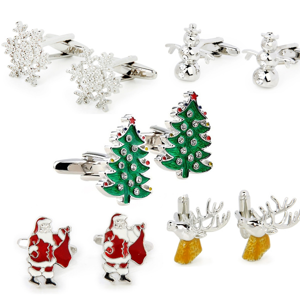 Copper, 1pair, Christmas, Tie Pins
