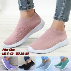 casual shoes, Sneakers, Plus Size, meshshoe