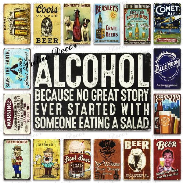 Funny, Decor, Alcohol, Restaurant