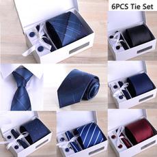 Box, necktie set, Fashion, formal accessories