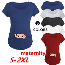 Funny T Shirt, Clothes, pregnantbaby, summer t-shirts
